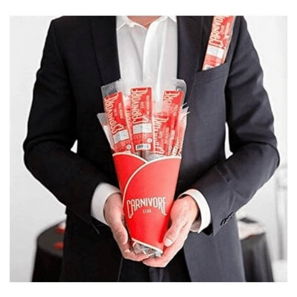 Beef Jerky Bouquet for men