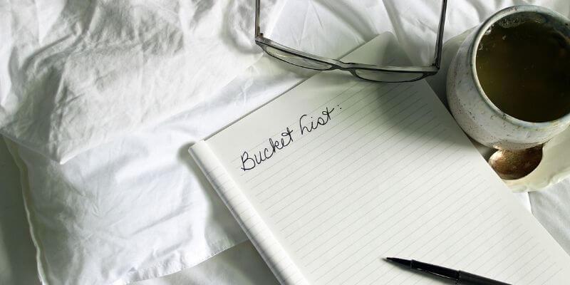 Make a bucket list