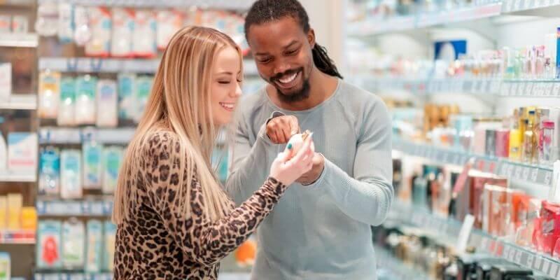 Shopping for fragrances