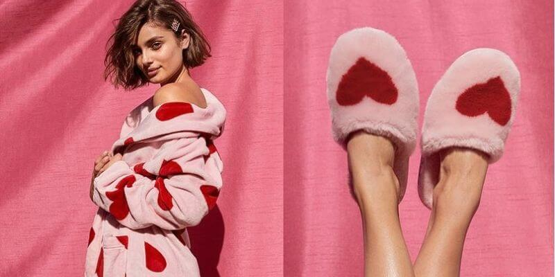 Victoria's secret robe and slippers