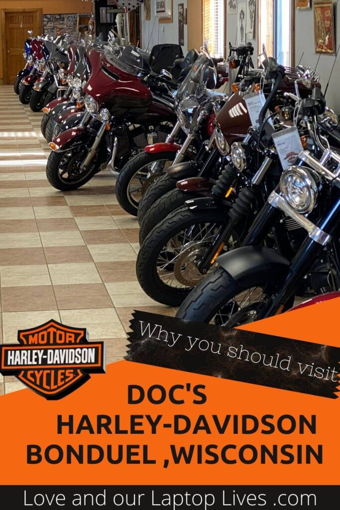 Why you should visit Doc's harley-Davidson home of the Timeline Motorcycle