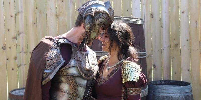 Renaissance Fair costume in love
