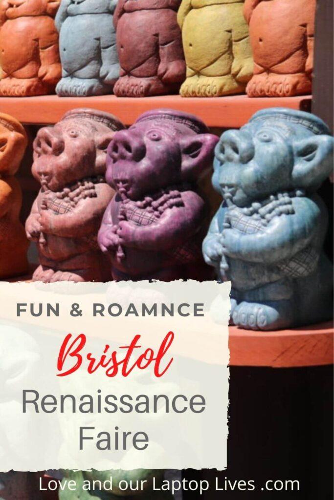 funa nd romance the Bristol Renaissance Faire