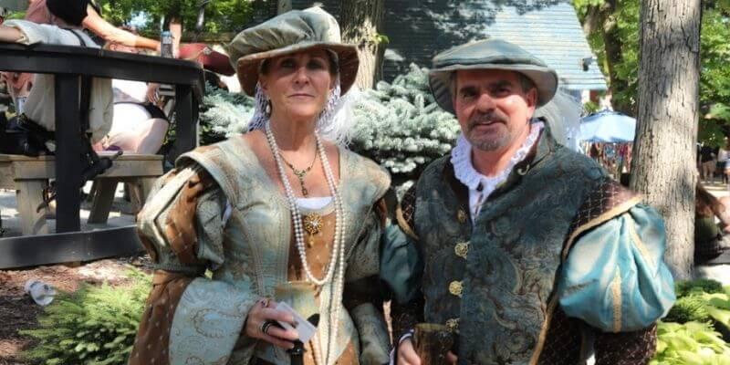 High Society Renaissance Faire costumes
