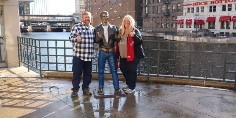 Milwaukee, Gary, Michelle and the Fonz