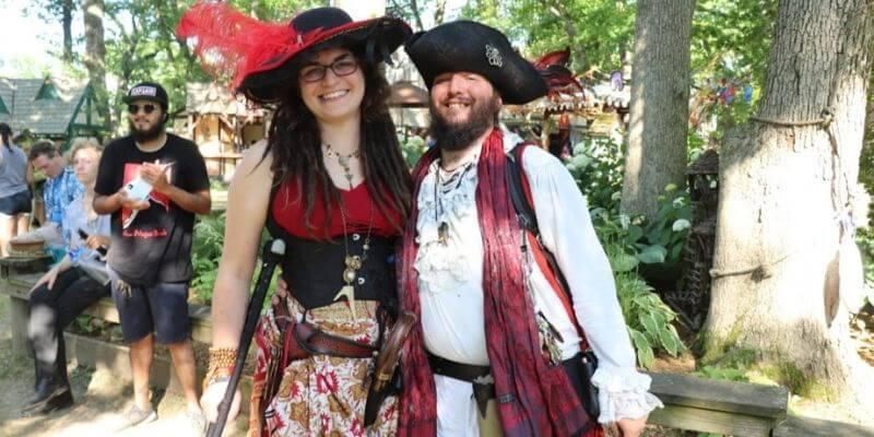 Renaissance faire pirates