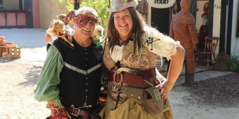 Top of the Morning Renaissance Faire costume