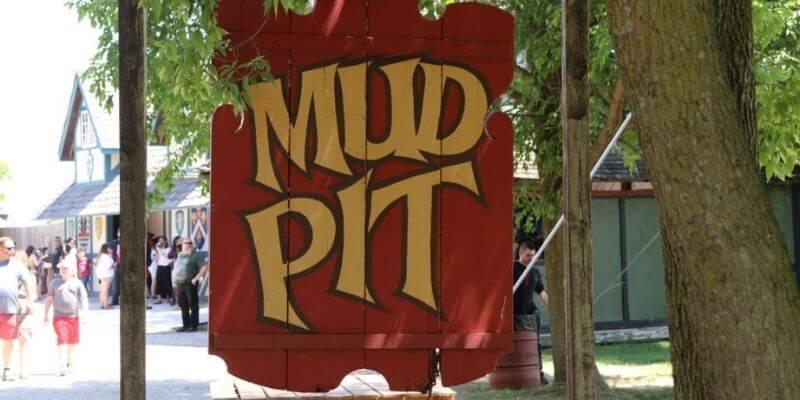 Renaissance Faire Mud pit
