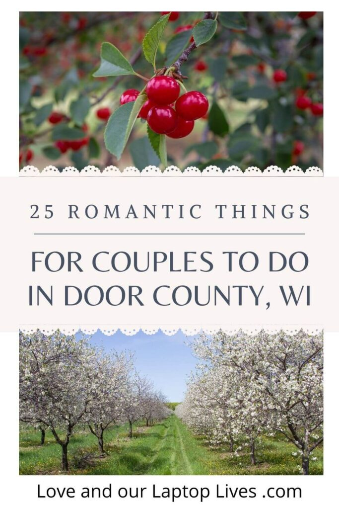 25 Things for couples to do in Door County Wisconsin