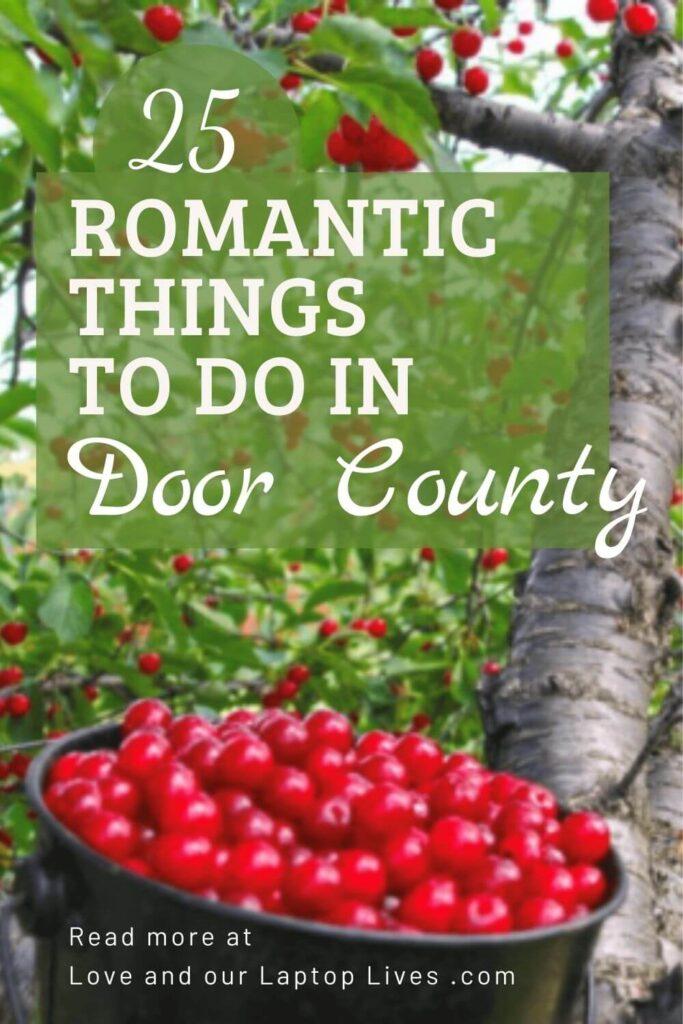 25 romantic things to do in Door County