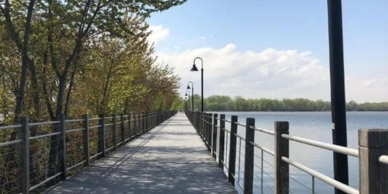 Trestle Trail Bridge Neenah, Wisconsin